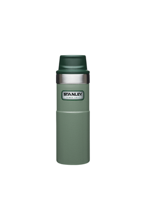 Trigger Action Travel Mug in Hammertone Green - Philistine