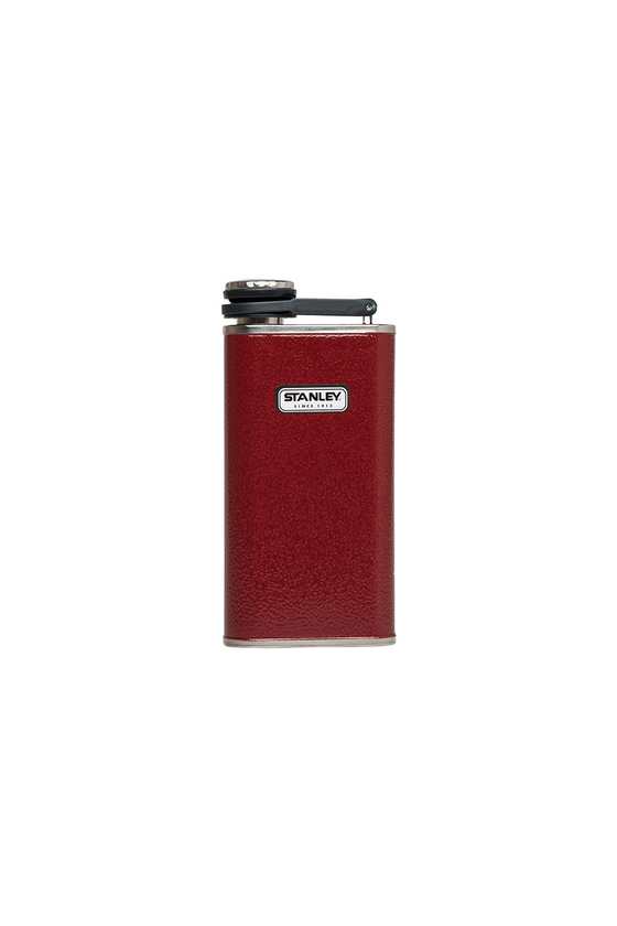 Classic Flask in Hammertone Crimson - Philistine