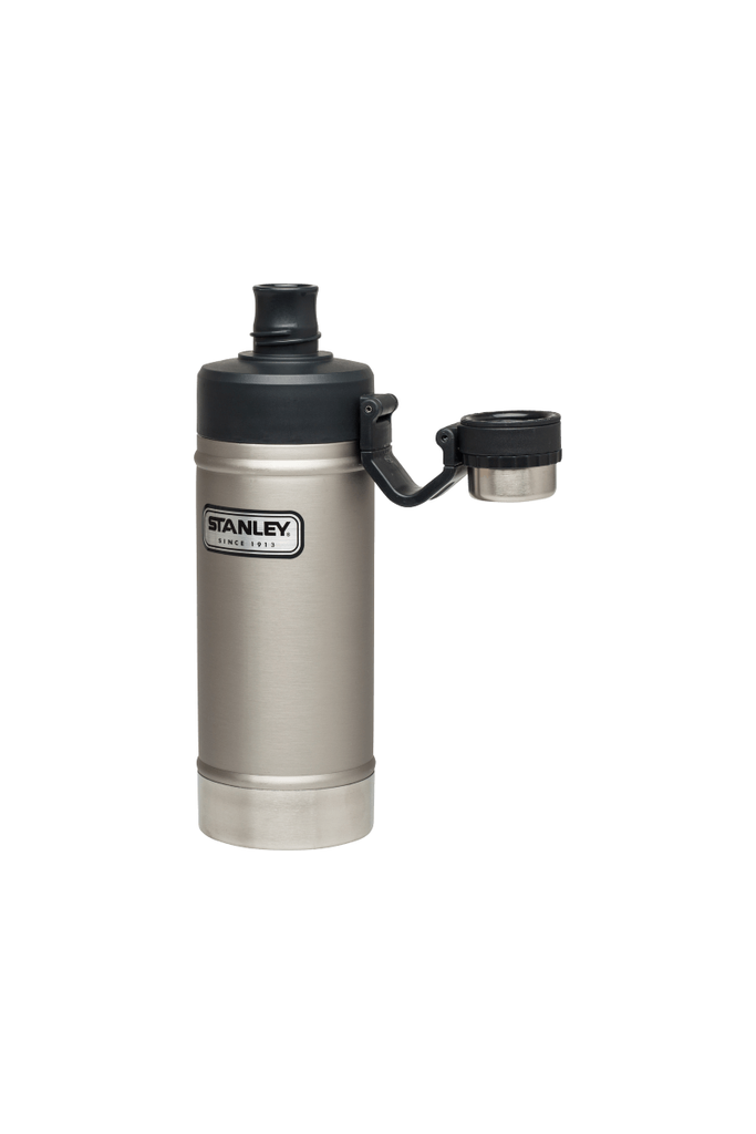 Classic Vacuum Camp Water Bottle in Stainless Steel - Philistine