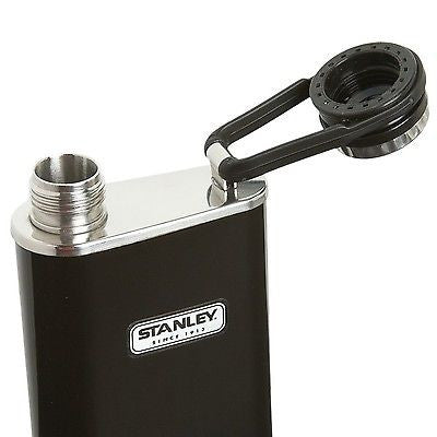 Stanley Classic Wide Mouth Flask in Black