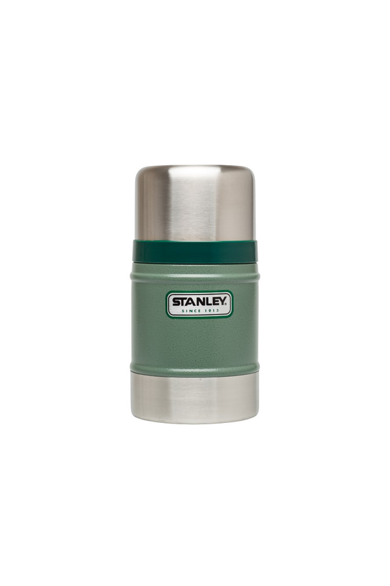 Stanley Classic Vacuum Food Jar Thermos in Hammertone Green