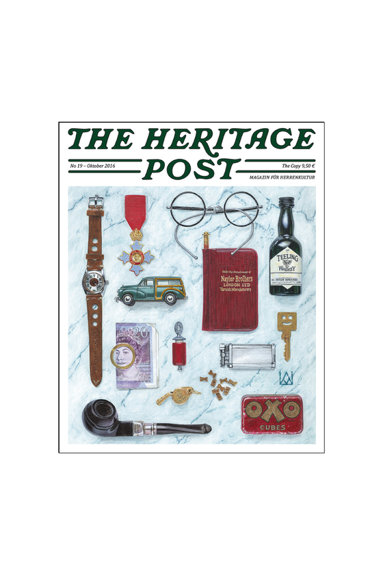 The Heritage Post Issue 19 at Philistine Toronto