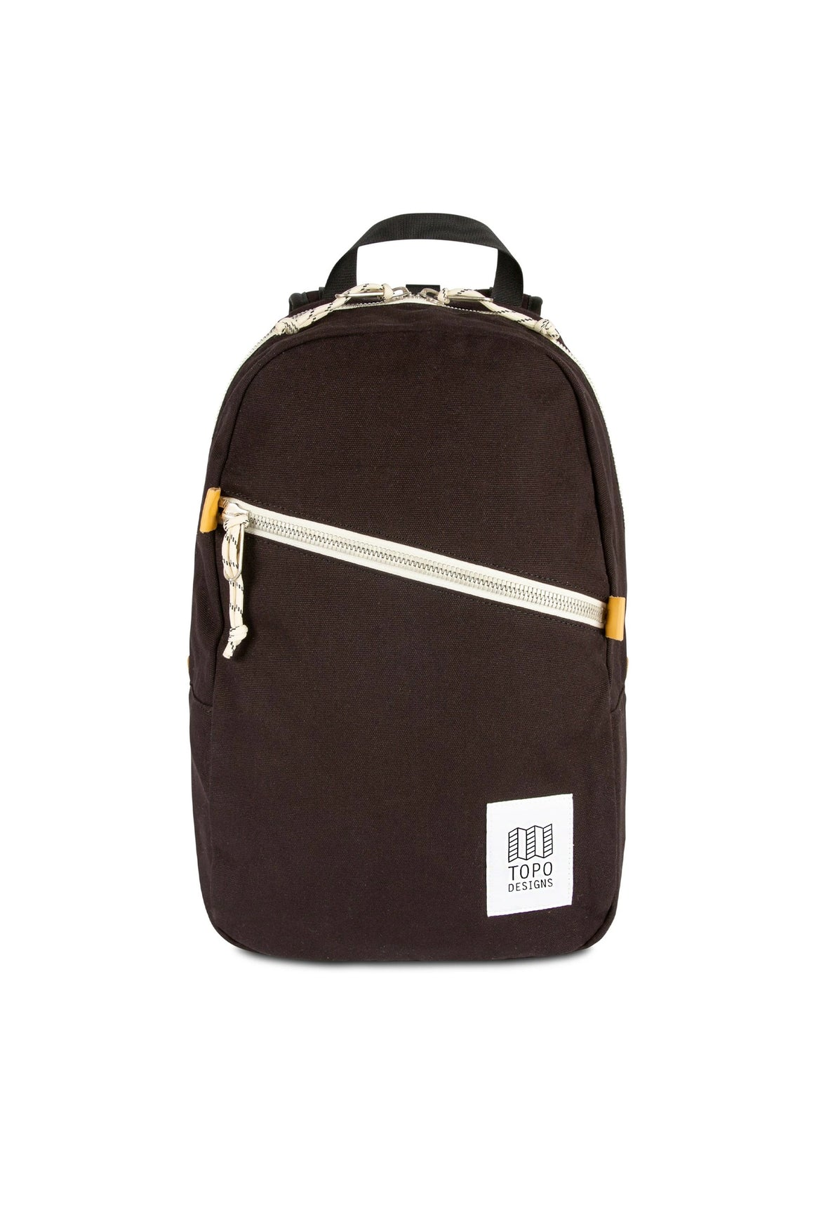 Topo Designs Light Pack in Black Canvas