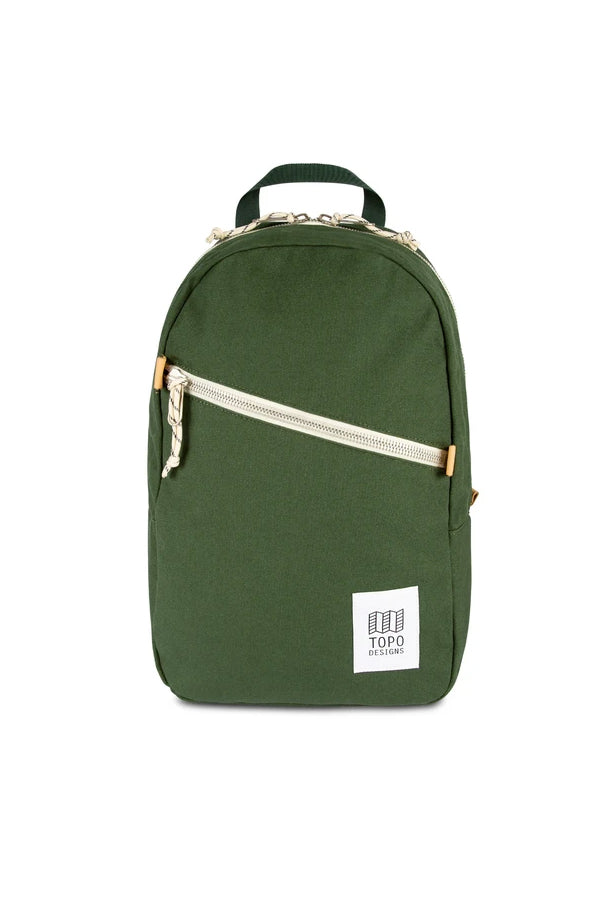Topo Designs Light Pack in Forest Canvas