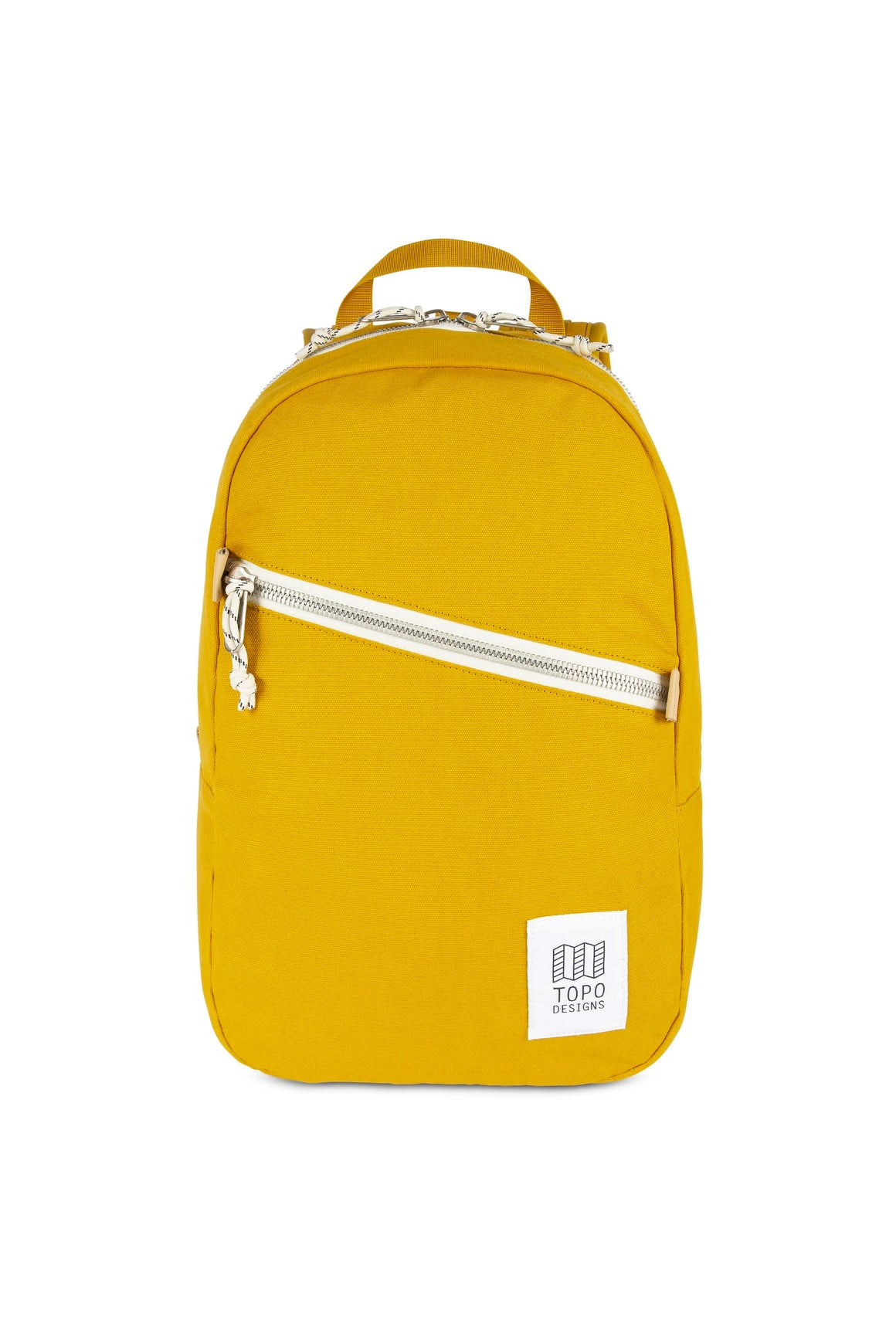 Topo Designs Light Pack in Mustard Canvas