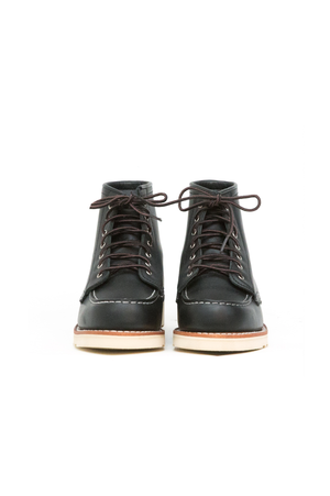 Women's 6-Inch Moc in Black Boundary - Philistine