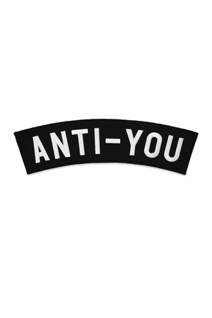 Anti-You Back Patch - Philistine
