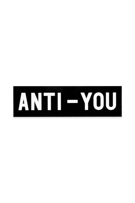 Anti-You Bumper Sticker - Philistine