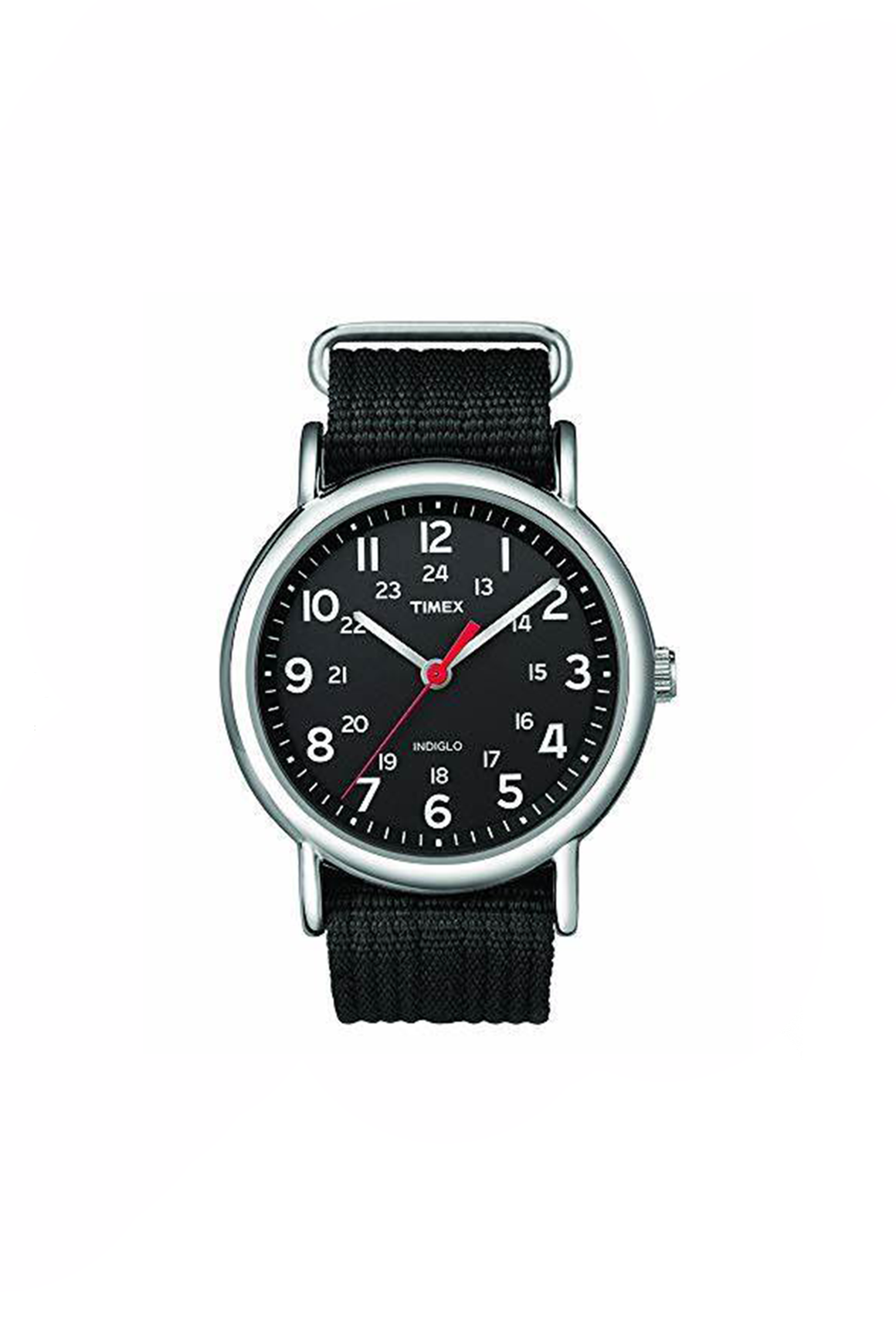 38mm Nylon Weekender in Black