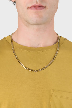 Bold Cuban Chain in Gold