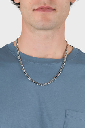 Bold Cuban Chain in Silver