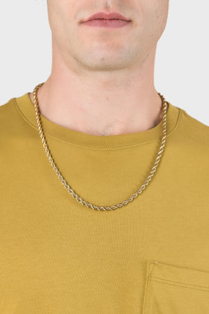Bold Rope Chain in Gold
