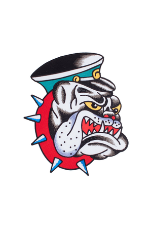 Piew Choquette Bulldog Patch - Philistine