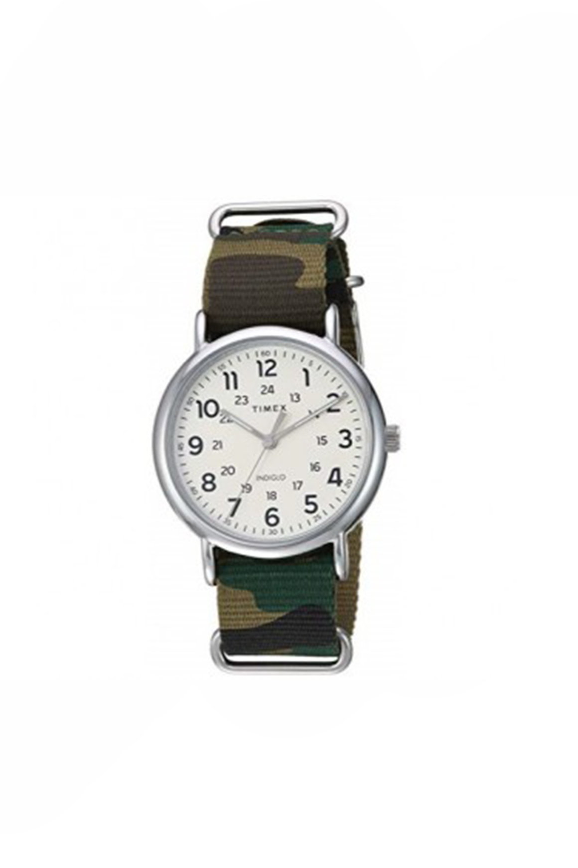40mm Nylon Weekender in Camo