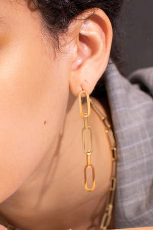 Chain Drop Earrings - Philistine