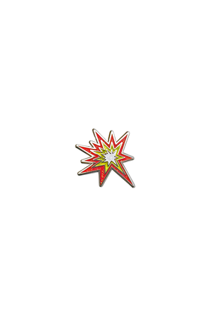 Collision Emoji Lapel Pin - Philistine