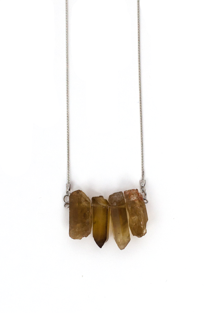 Crystal Cluster Necklace - Philistine