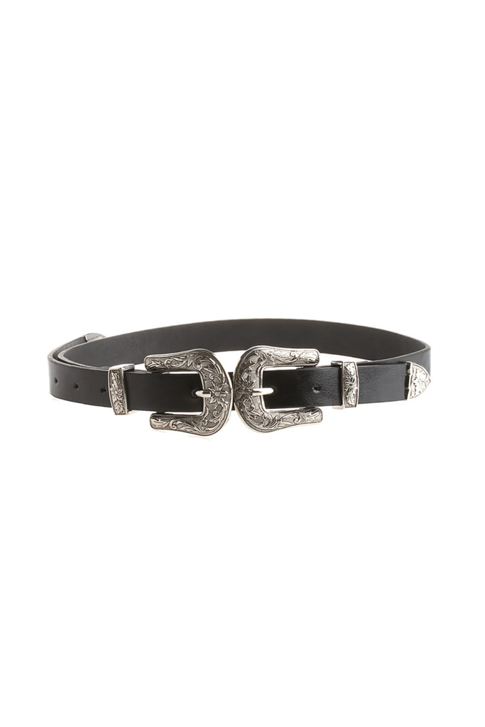 Wild West Double Buckle Belt - Philistine