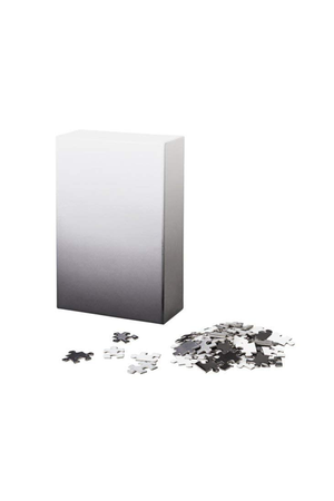 Gradient Puzzle in Black/White - Philistine