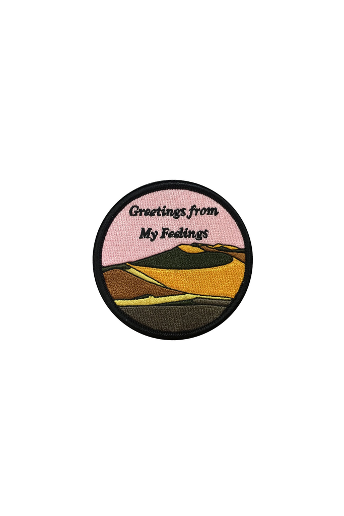 Greetings from my Feelings Patch - Philistine