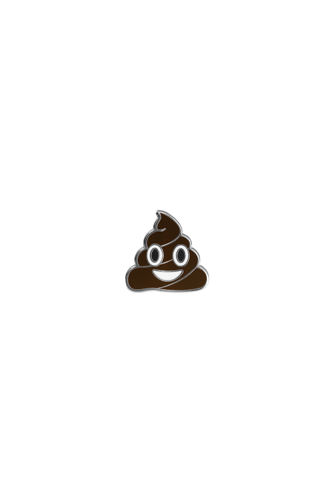 Happy Poop Emoji Lapel Pin - Philistine