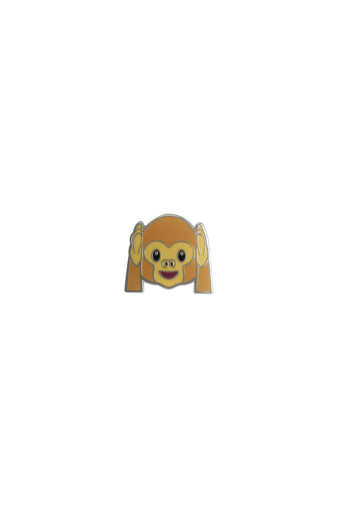 Hear No Evil Emoji Lapel Pin - Philistine