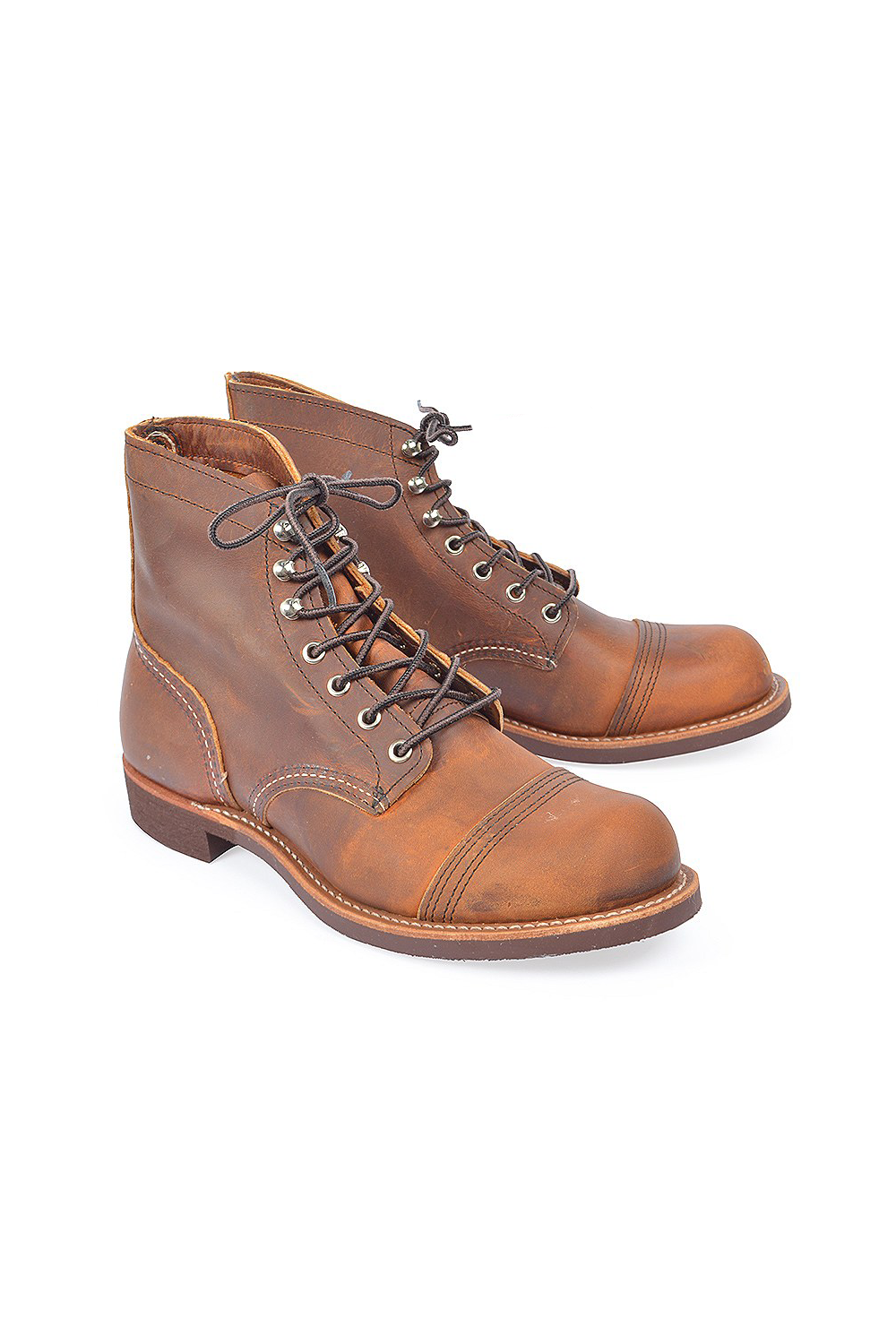 08d82045946 Men s Iron Ranger in Copper Rough   Tough from Red Wing Shoes