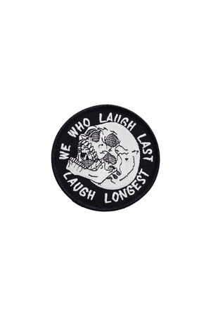 Last Laugh Patch - Philistine