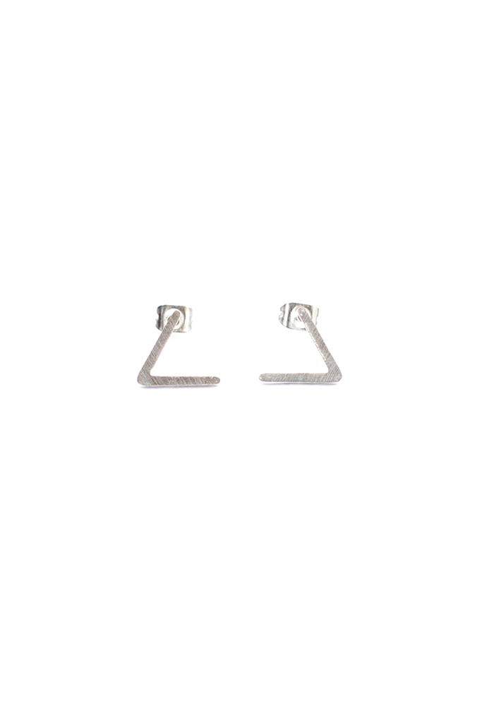 Bent Bar Stud Earring - Philistine