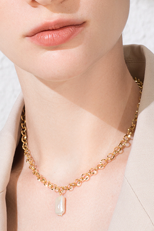 Mother of Pearl Choker - Philistine