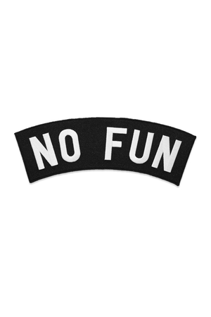 No Fun Backpatch - Philistine