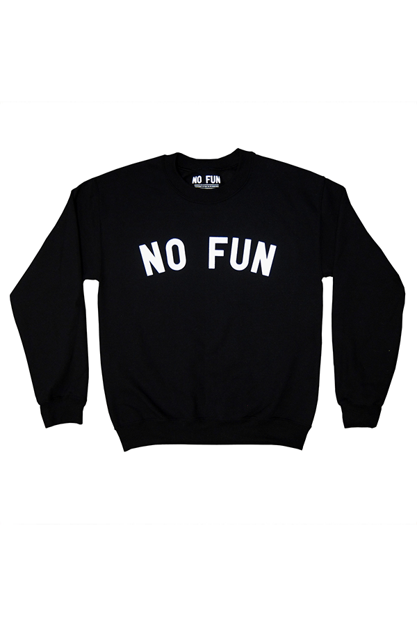 No Fun Classic Crew Sweatshirt - Philistine