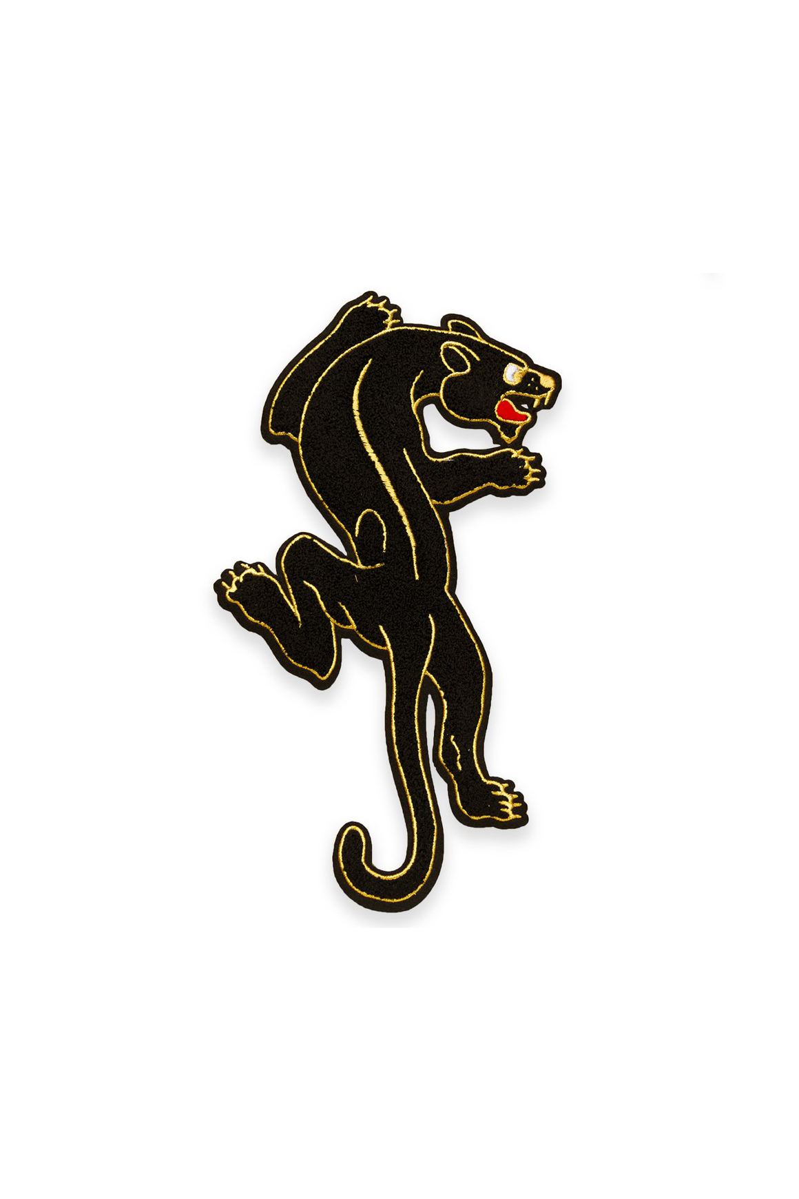 Crawling Panther Chenille Back Patch - Philistine