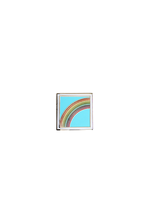 Rainbow Emoji Lapel Pin - Philistine