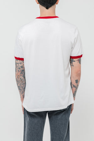 Red Wing Logo Ringer T-Shirt - Philistine