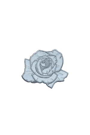 Reflective Rose Patch - Philistine