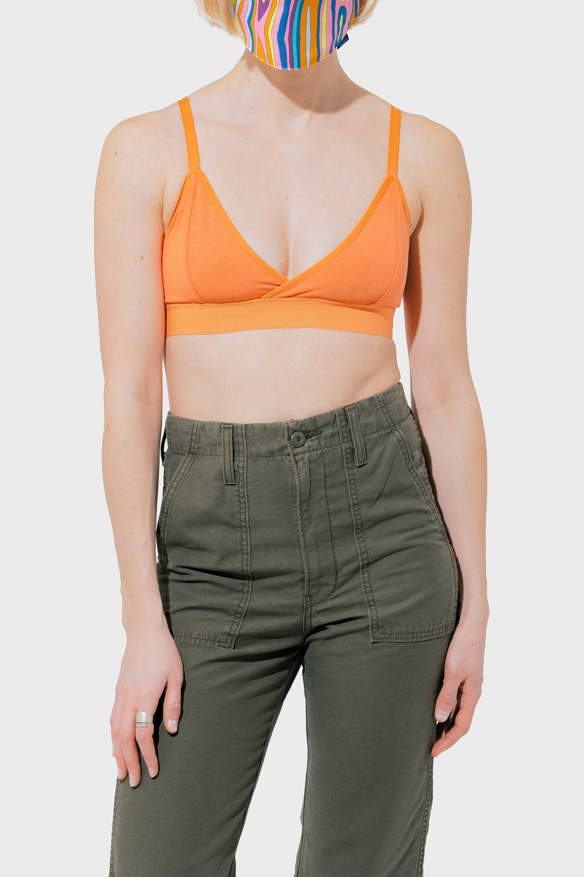 Women's Richer Poorer Classic Bralette in Flamingo