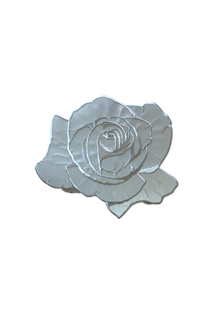 Reflective Rose Back Patch - Philistine