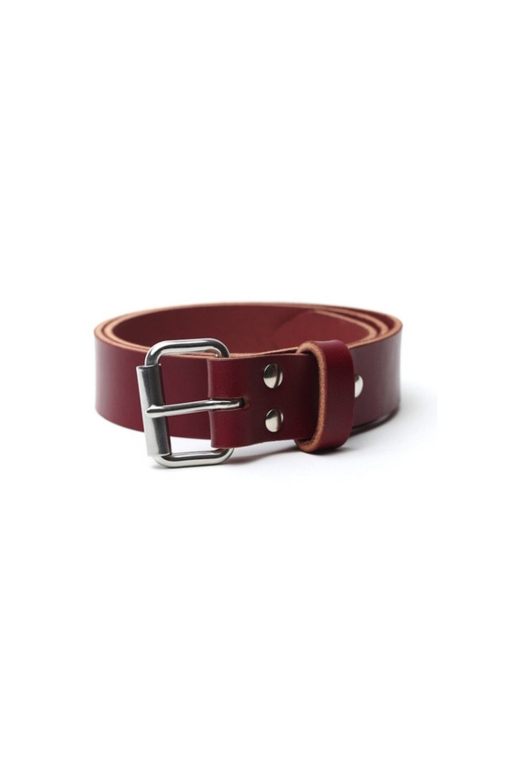 Shop Belt in Oxblood Leather - Philistine
