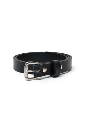 Slim Belt in Black - Philistine