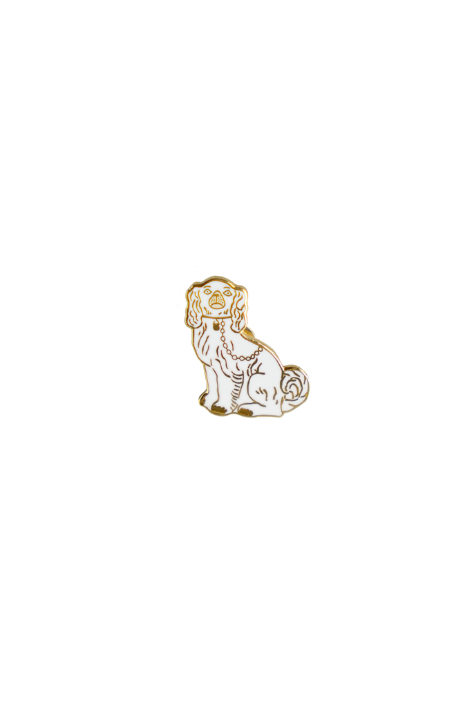 Staffordshire Dog Lapel Pin