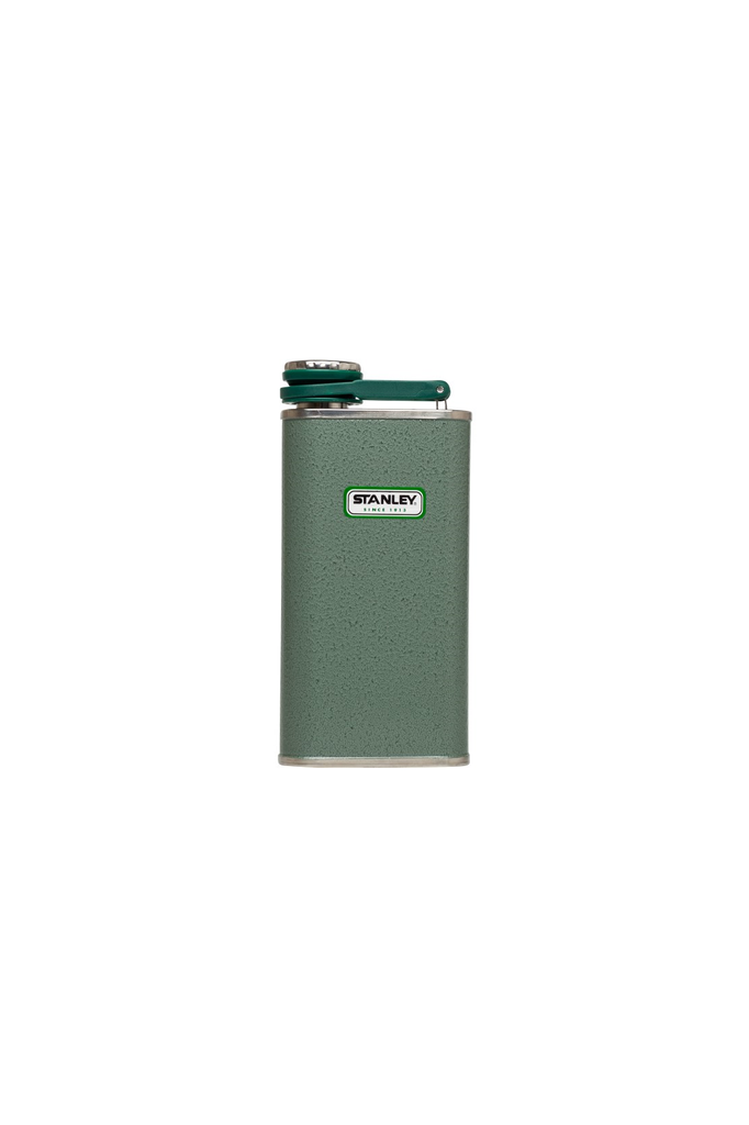 Classic Flask in Hammertone Green