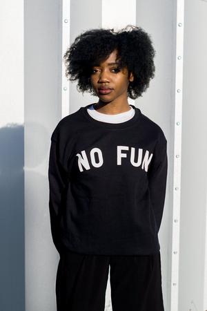 No Fun Classic Crew Sweatshirt