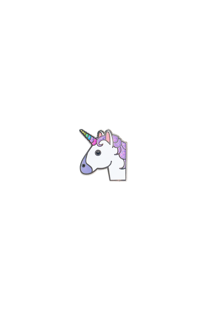 Unicorn Emoji Lapel Pin