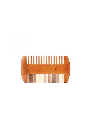 Wooden Beard Comb - Philistine