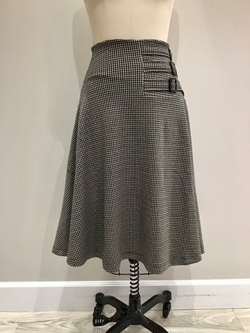 Aviation Skirt Gabardine Weave