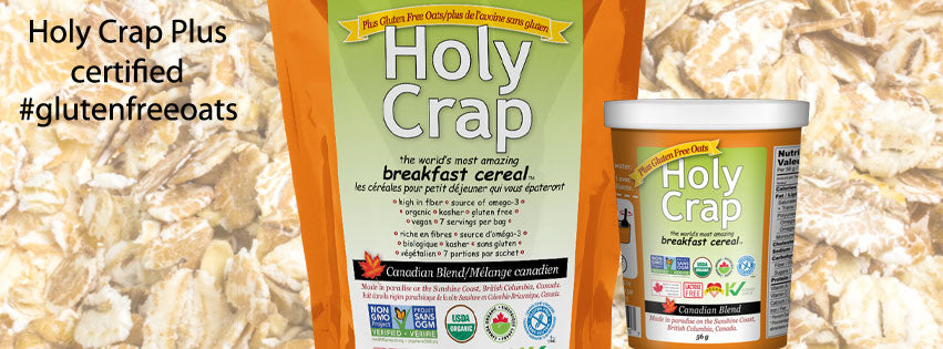 First oat cereal in Canada to be certified Gluten Free