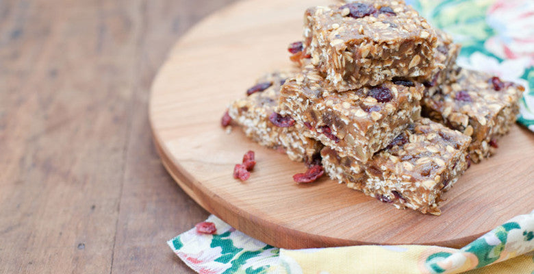 Fruit and Nut Bars with Holy Crap Cereal recipe