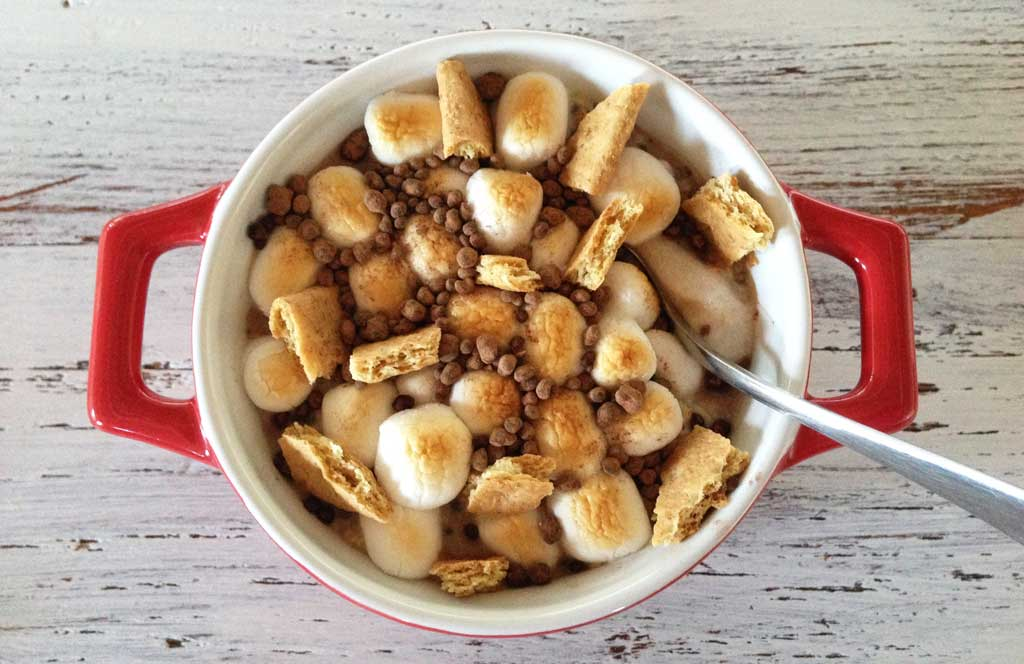 S'Mores Oatmeal Bowl recipe