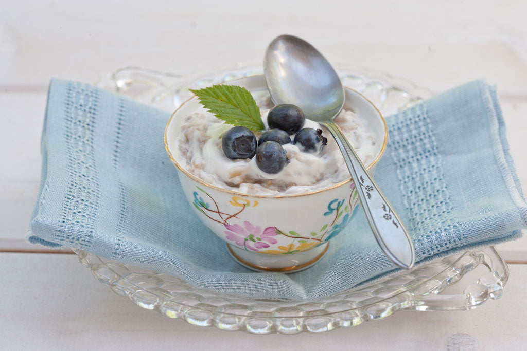 Steel Cut Oats recipe with yogurt